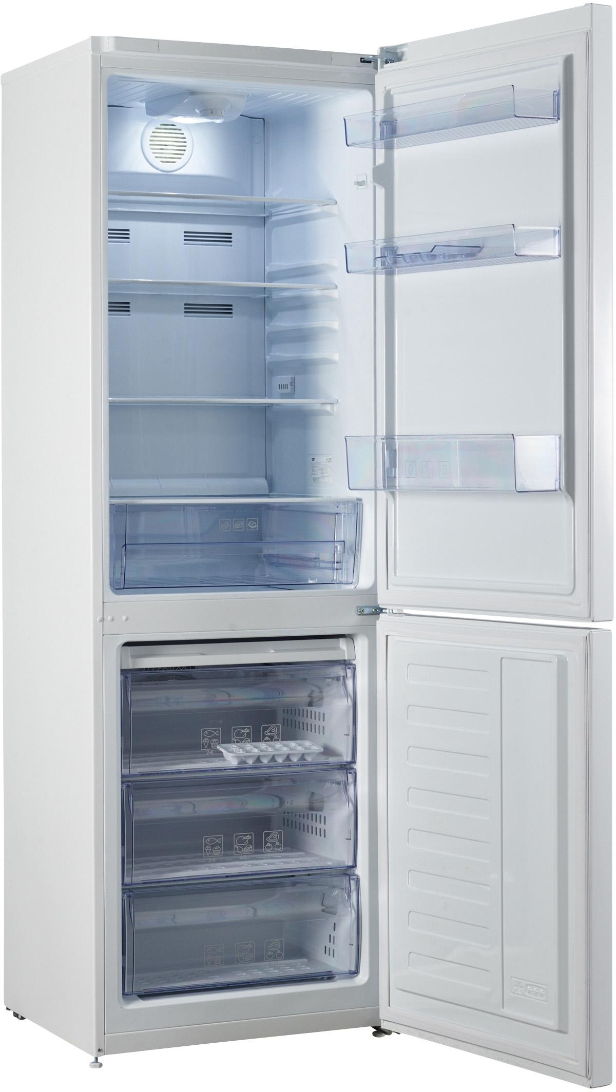I dettagli del test sul frigorifero BEKO RCNA320K20W