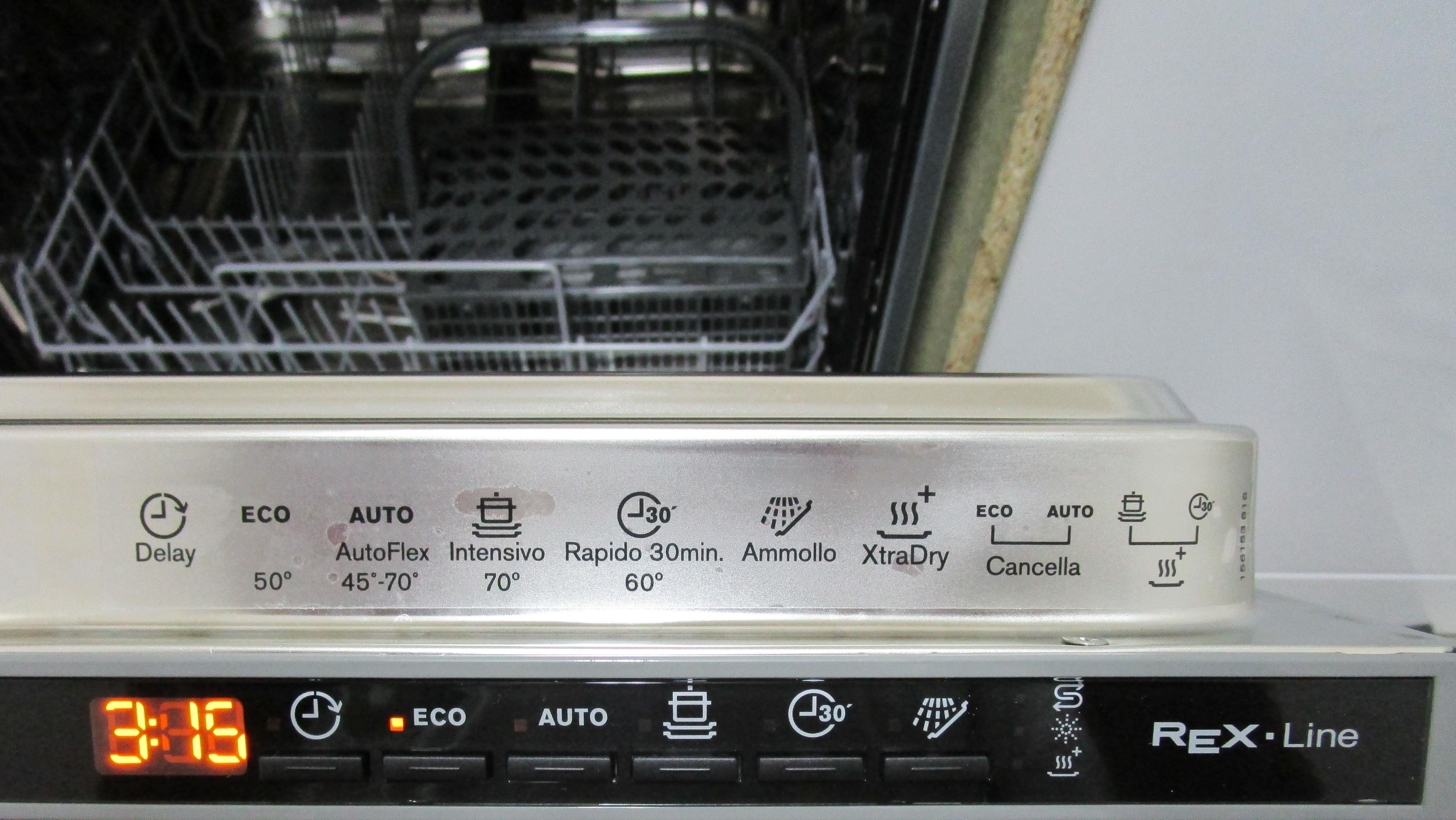 I dettagli del test archiviato sulle lavastoviglie ...