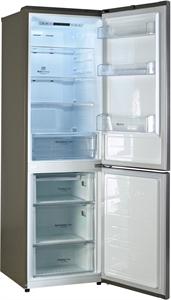 I dettagli del test sul frigorifero LG GBB59PZJZS