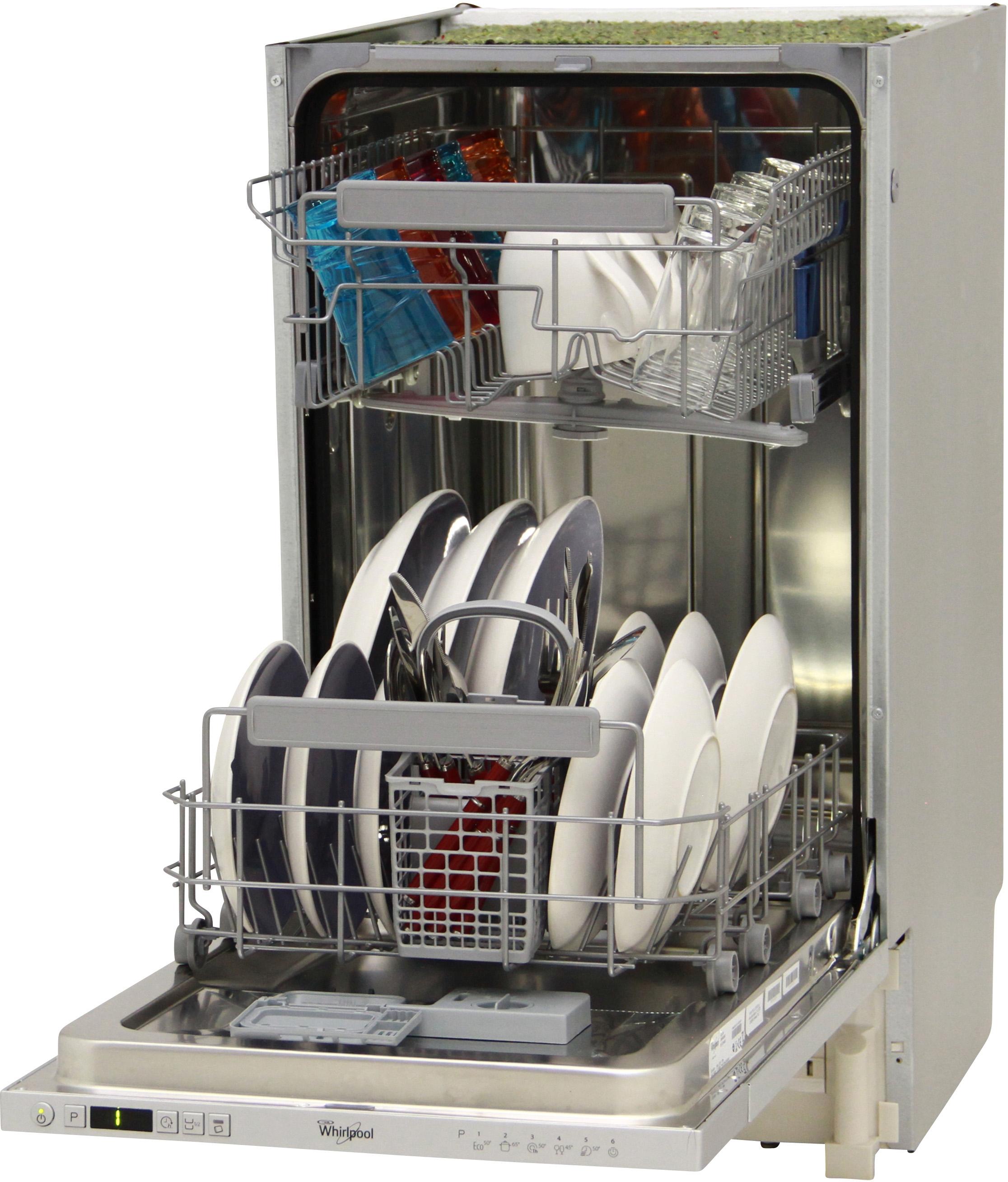 I dettagli del test sulla lavastoviglie WHIRLPOOL ADG351