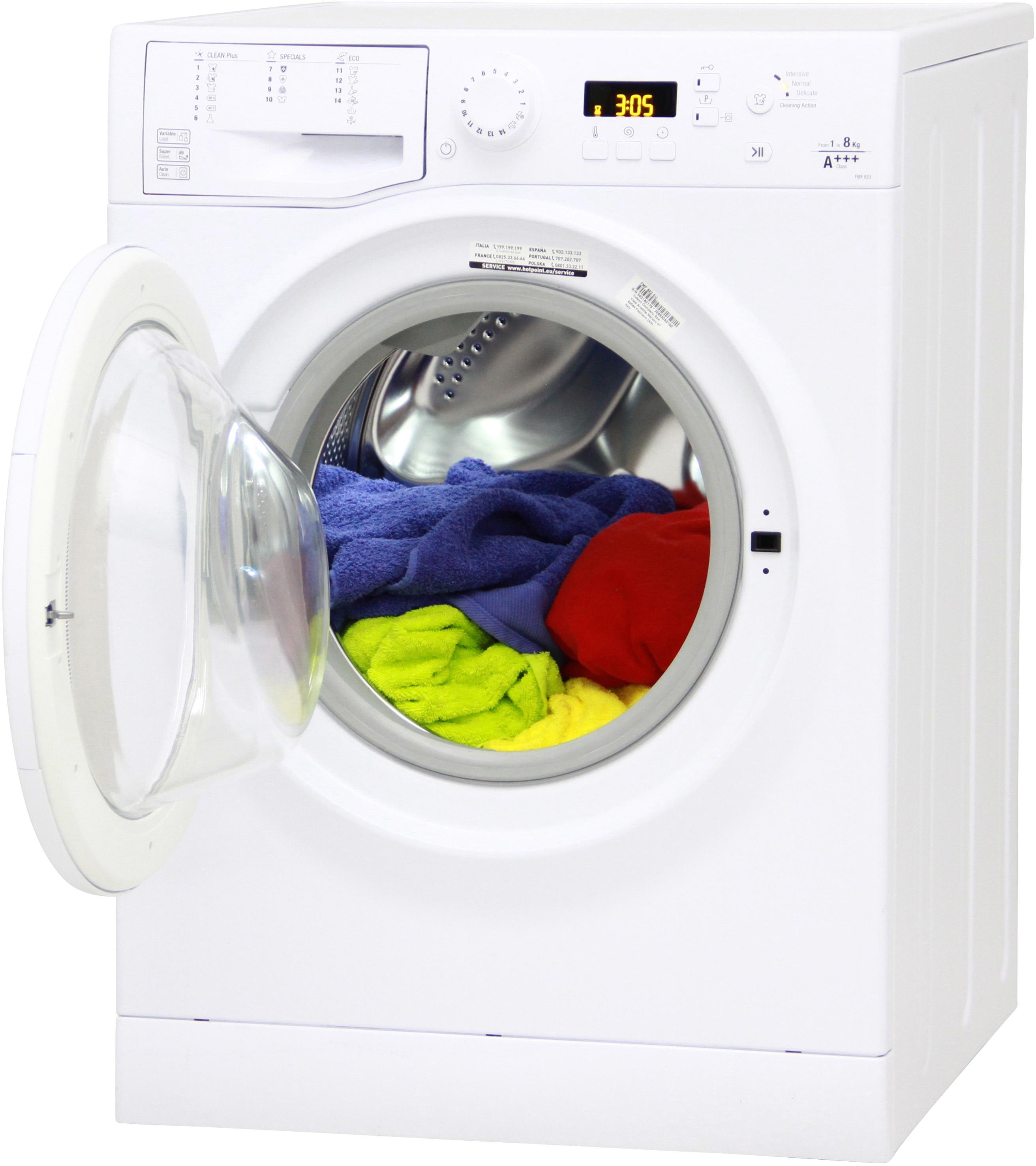 I dettagli del test sulla lavatrice HOTPOINT-ARISTON FMF823 EU