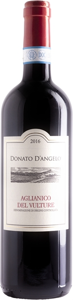 DONATO D'ANGELO Aglianico del Vulture DOC 2016 | Classifica vini | Altroconsumo