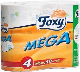 foxy carta igienica  I dettagli del test sulla carta igienica FOXY Mega