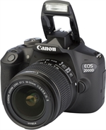 CANON EOS 2000D + EF-S 18-55 MM IS II | Classifica Macchine Fotografiche | Altroconsumo