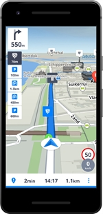 SYGIC GPS NAVIGATION & MAPS (ANDROID) | Classifica Navigatori satellitari: Risultati del test | Altroconsumo