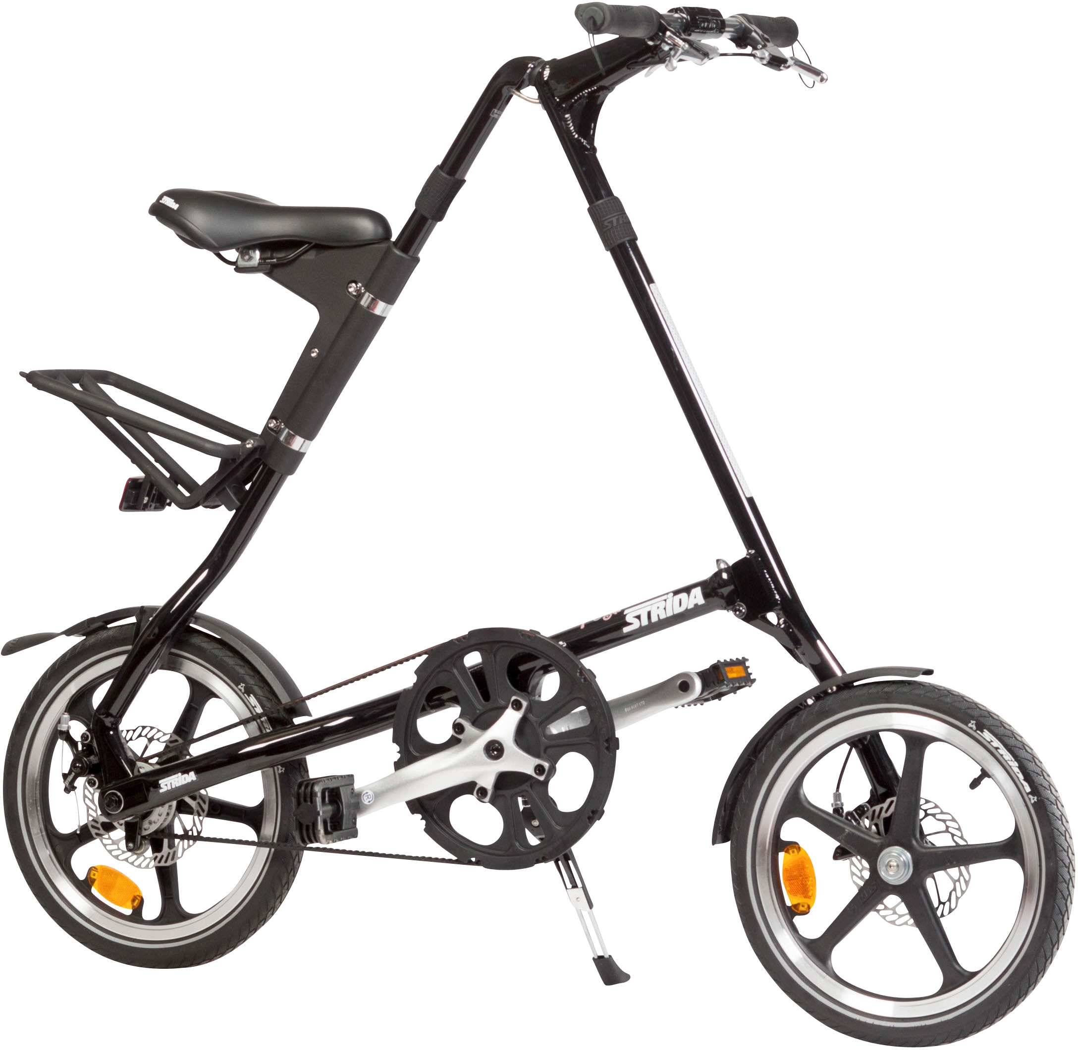 Strida Bici Pieghevole.Strida Black