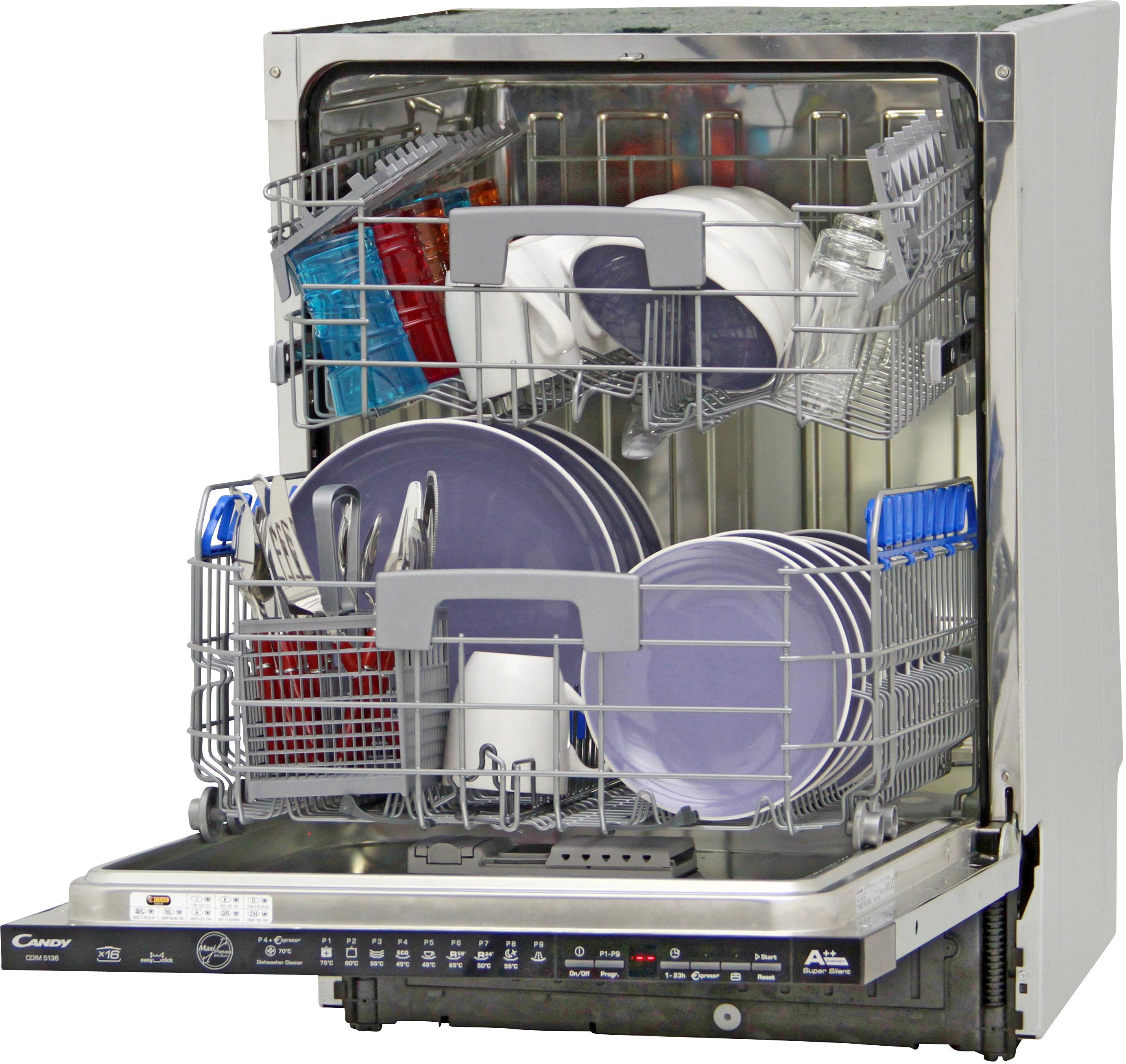 I dettagli del test sulla lavastoviglie candy cdim5136 - Quiz sulla cucina ...